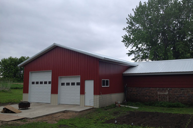 Pole barn additions for Building cost net